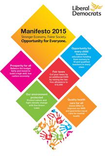 Lib Dem Manifesto 2015